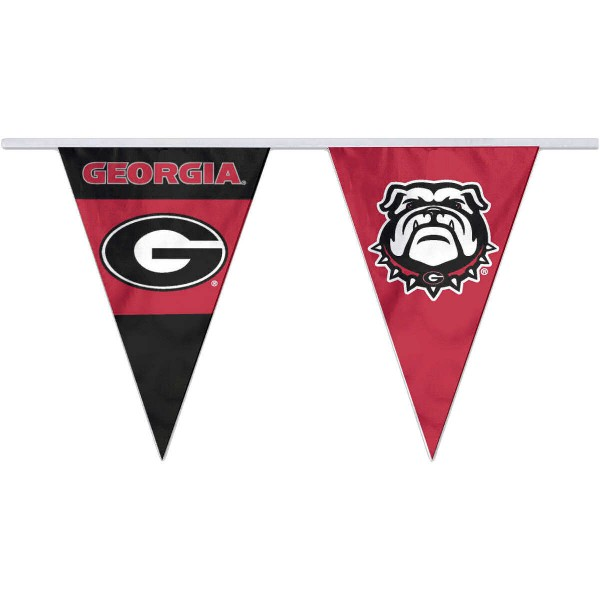 Pennant Flags for UGA Bulldogs