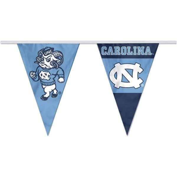 Pennant Flags for UNC Tar Heels