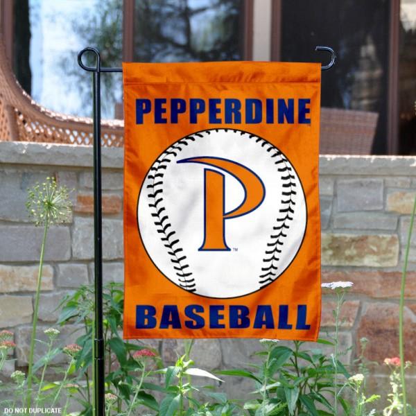 Pepperdine Waves Baseball Garden Flag