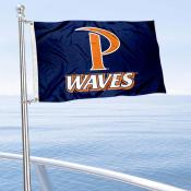 Pepperdine Waves Boat Nautical Flag