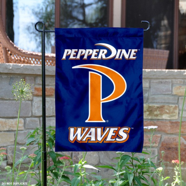 Pepperdine Waves Garden Banner