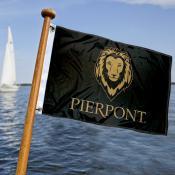 Pierpont Community College Boat Nautical Flag