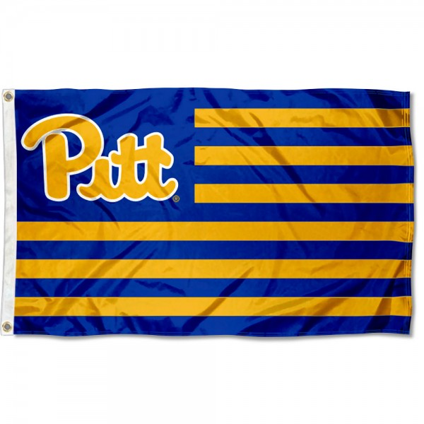Pitt Panthers American Nation Flag