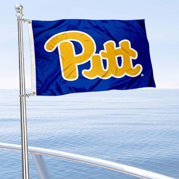 Pitt Panthers Boat Nautical Flag