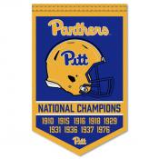 Pitt Panthers College Football National Champions Banner