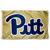 Pitt Panthers Gold 3x5 Foot Flag