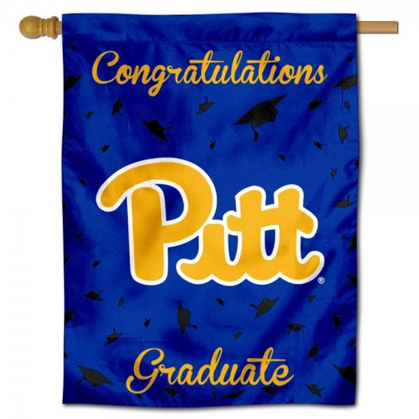 Pitt Panthers Graduation Banner