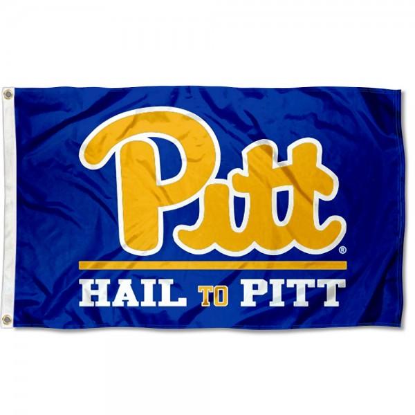 Pitt Panthers Hail to Pitt Flag