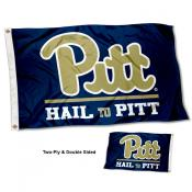 Pitt Panthers Two Sided Hail to Pittsburgh 3x5 Foot Flag