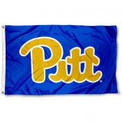 Pitt Panthers Vintage Retro Royal Flag