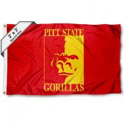 Pitt State Gorillas 2x3 Flag