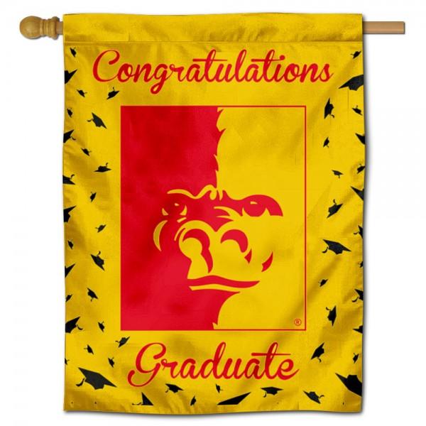 Pitt State Gorillas Graduation Banner