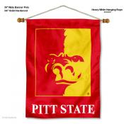 Pittsburg State Gorillas Wall Hanging