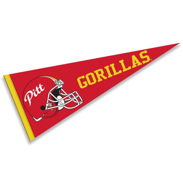 Pittsburg State University Football Helmet Pennant