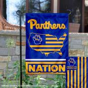 Pittsburgh Panthers Nation Garden Flag