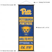 Pittsburgh Panthers Wall Banner and Door Scroll