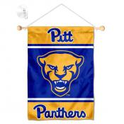 Pittsburgh Panthers Window Hanging Banner with Suction Cup