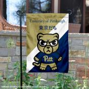 Pittsburgh Panthers Yuru Chara Tokyo Dachi Garden Flag