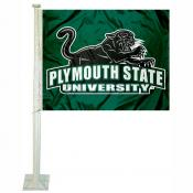 Plymouth State Panthers Car Flag