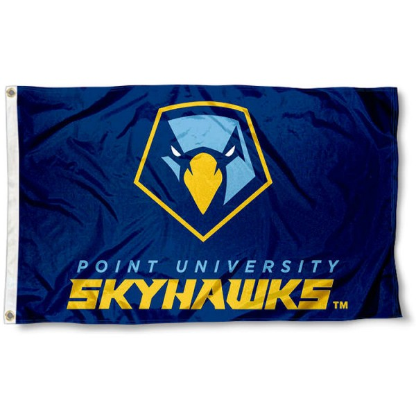 Point Skyhawks 3x5 Foot Pole Flag
