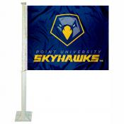 Point University Skyhawks Car Flag