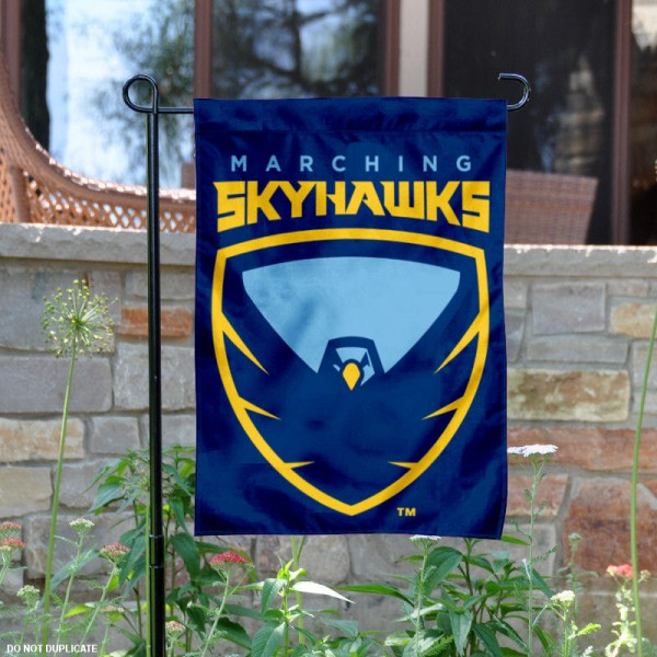 Point University Skyhawks Logo Garden Banner