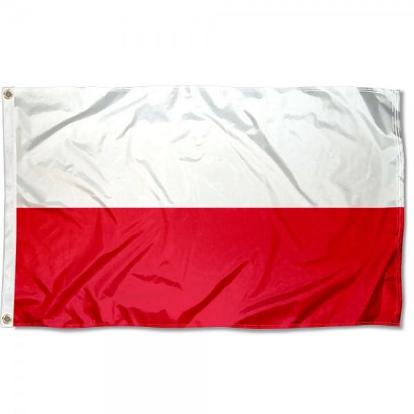 Poland Country 3x5 Polyester Flag