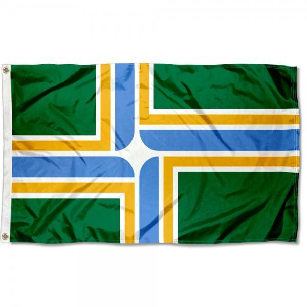Portland City 3x5 Foot Flag