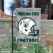 Portland State Vikings Football Garden Flag