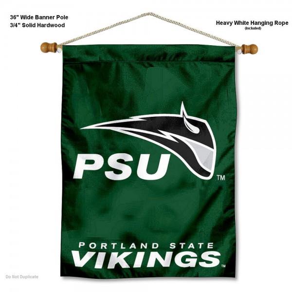 Portland State Vikings Wall Hanging