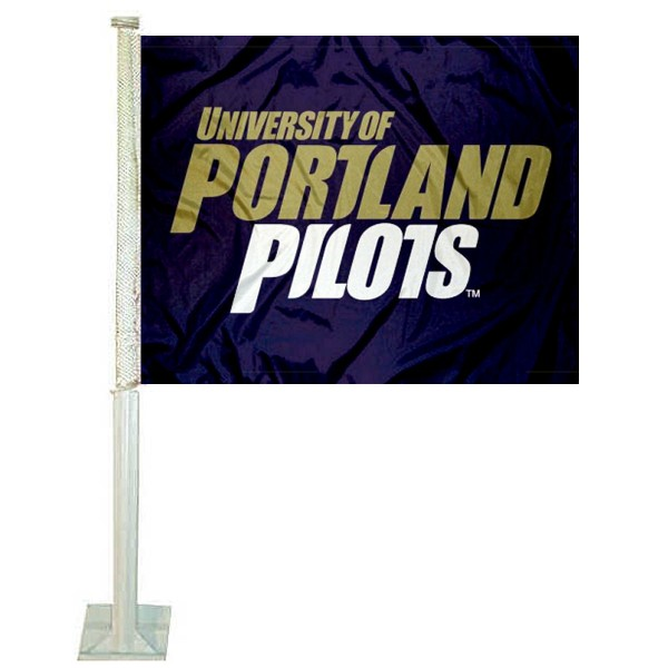 Portland UP Pilots Car Flag