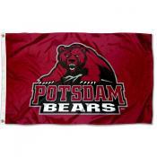 Potsdam Bears Wordmark Flag