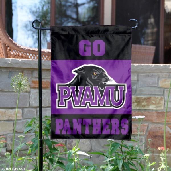Prairie View A&M Panthers Garden Flag
