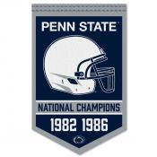 PSU Nittany Lions College Football National Champions Banner
