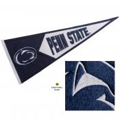 PSU Nittany Lions Embroidered Wool Pennant