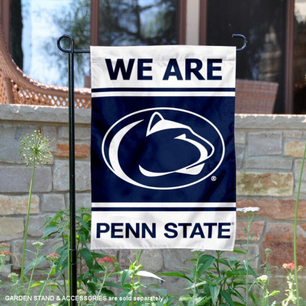 Psu Nittany Lions Garden Flag And Garden Flags For Penn