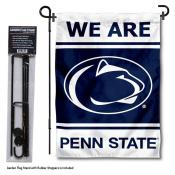 PSU Nittany Lions Garden Flag and Holder