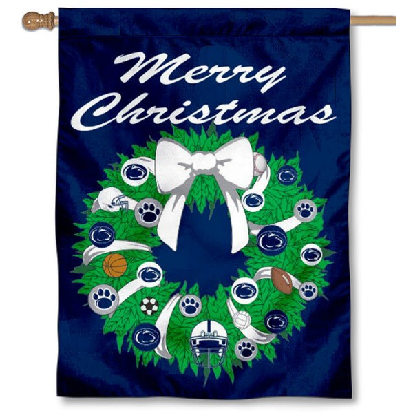 PSU Nittany Lions Holiday Flag