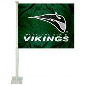 PSU Vikings Car Flag