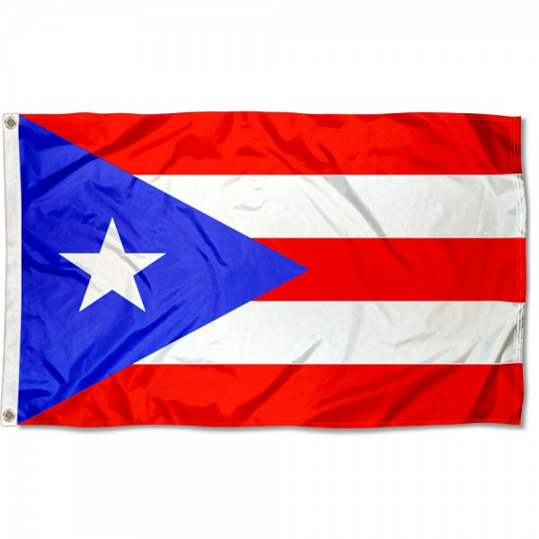 Puerto Rico Country 3x5 Polyester Flag