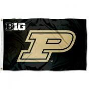 Purdue Boilermakers Big 10 Flag