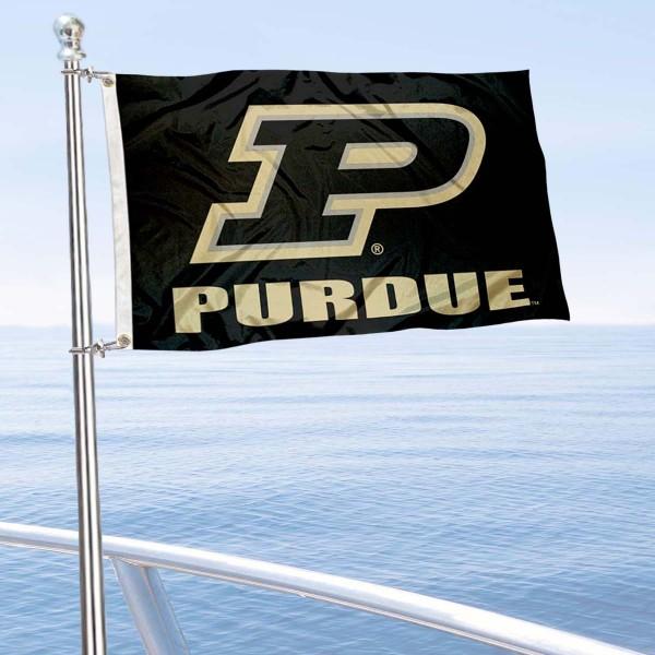 Purdue Boilermakers Boat Flag