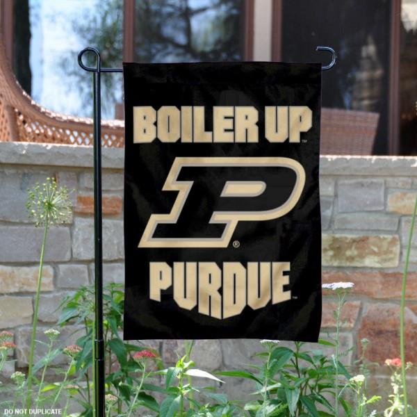 Purdue Boilermakers Boiler Up Garden Flag