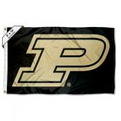 Purdue Boilermakers Logo 6x10 Large Flag