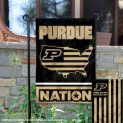 Purdue Boilermakers Nation Garden Flag