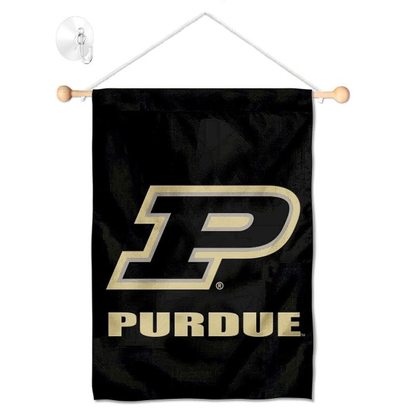 Purdue Boilermakers Small Wall and Window Banner