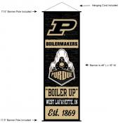Purdue Boilermakers Wall Banner and Door Scroll