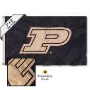 Purdue Embroidered 2x3 Foot Flag