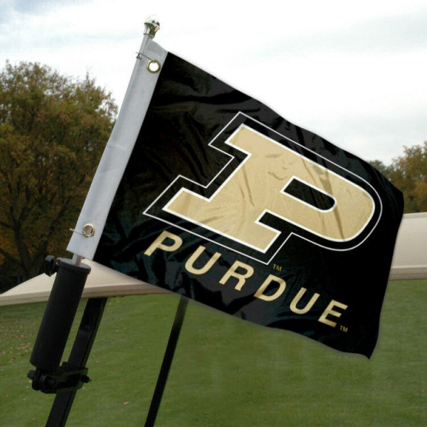 Purdue Golf Cart Flag