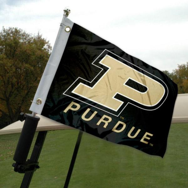 Purdue Golf Cart Flag